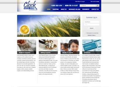 Clock Medical Supply